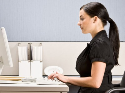 Postura sentado computadora - dolor de espalda
